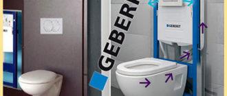 Унитазы и установки Geberit