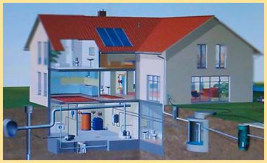Схема водоснабжения дома