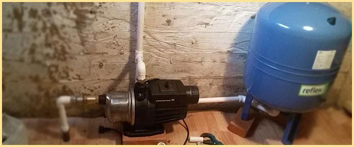 Гидроаккумялятор в работе