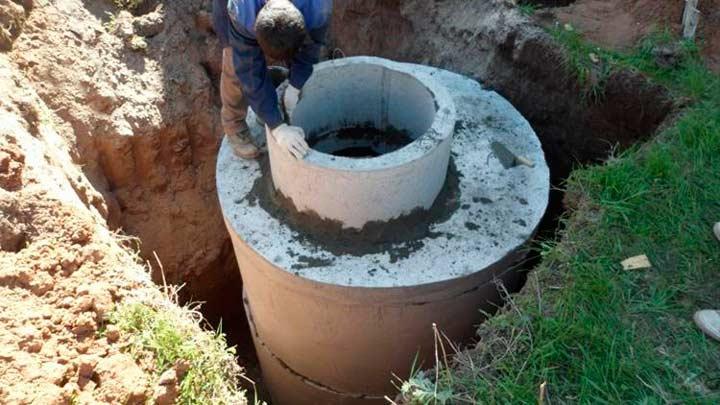 Колодец из бетонных колец и его особенности