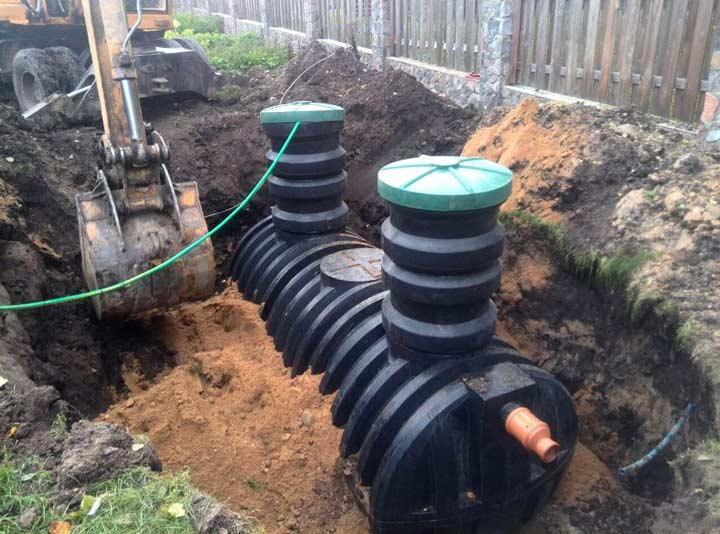 Накопительная емкость канализационная