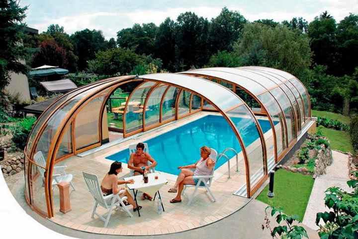 Крытые пластины для бассейна