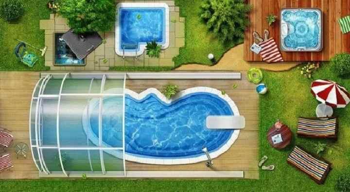 Планировка для бассейна