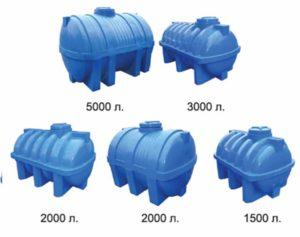 5 видов емкости для воды