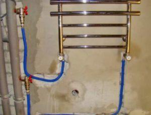 Подключение змеевика в ванной