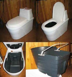 Характеристики туалета с торфом