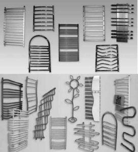 Дизайны змеевиков в ванной
