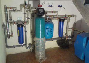 Система фильтрации воды в доме