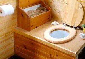 Обустройство туалета для жизни на даче