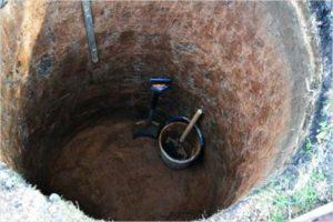Колодец канализационный