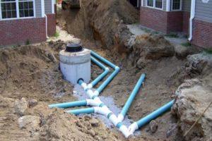 Трубы для внешней канализации