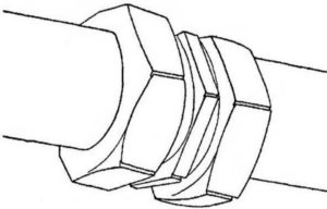 Схема резьбового соединения