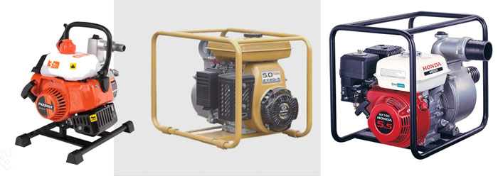 Разновидности мотопомпы бензиновые