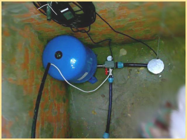 Установка насоса в скважине
