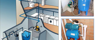 Подключение насосной станции в доме