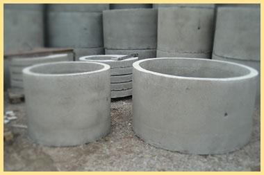 Как сделать паз в бетонном кольце