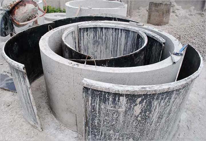 Методы изготовления бетонных колец