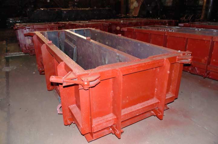 Форма для изготовления бетонных лотков