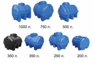 7 видов емкости для воды