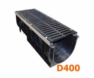 Класс Д400 водоотвода из пластика