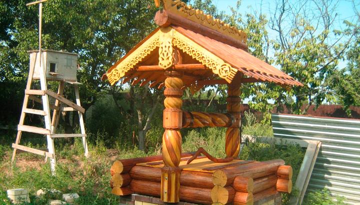 Строим колодец на даче своими руками из дерева и бетона  Видео