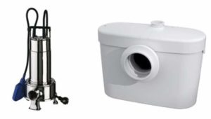 2 вида насоса канализационных