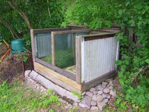 Вид сооружения для компоста