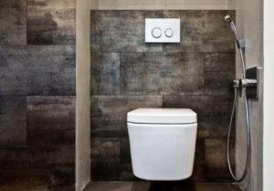 Строение душа в туалете