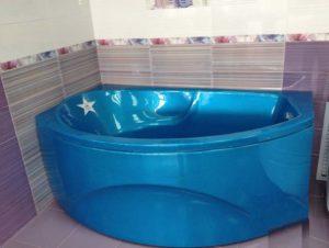 Красим ванну акрилом