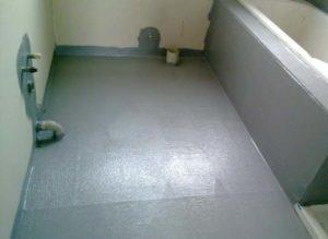 Ванная комната после церезита 65