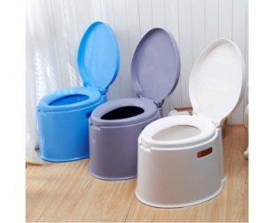 Три версии цвета ведра-туалета