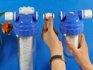 Как поставить водяной фильтр