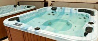 Внешний вид ванны-джакузи