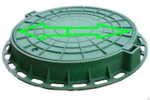 Зеленый люк