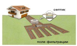 Рисунок аэрации поля