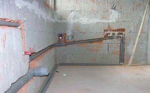 После создания правильных уклонов трубопровод будет качественно самоочищаться