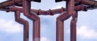 Водосточный стояк – труба, расположенная внутри здания