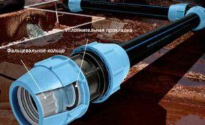 полиэтиленовые трубы совершенно не предназначены для горячего водопровода