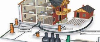 При желании можно подключить локальный трубопровод к центральной магистрали