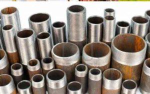 Трубы из стали соединяют неразборным или разборным способом