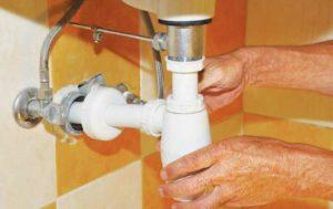 Затвор для канализации предотвращает деформацию трубы