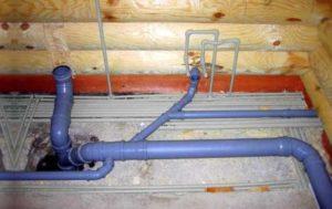 Как выглядит схема внутренней канализации частного дома