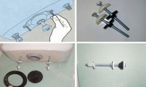 Отсоединяют шланги от водопровода, и входа в бачок (возможно потребуется помощь напарника).