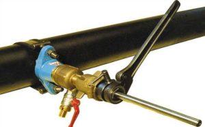 Производится замена водопроводных труб