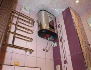 Как установить водонагреватель накопительный бойлер проточные