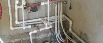 наличие раковины с подводом к канализации, горячий и холодный водопровод