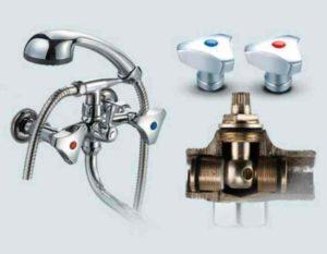 неполадки встречаются в устройствах с двумя вентилями