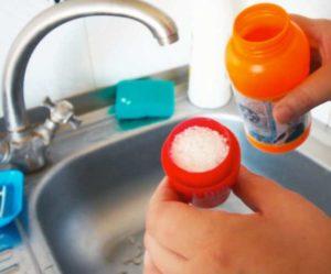 Высокая температура воды способна растворить жировые отложения