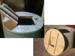 Крышка для колодца своими руками: виды, материал, пошаговая инструкция