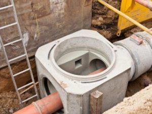 промышленный вид канализации
